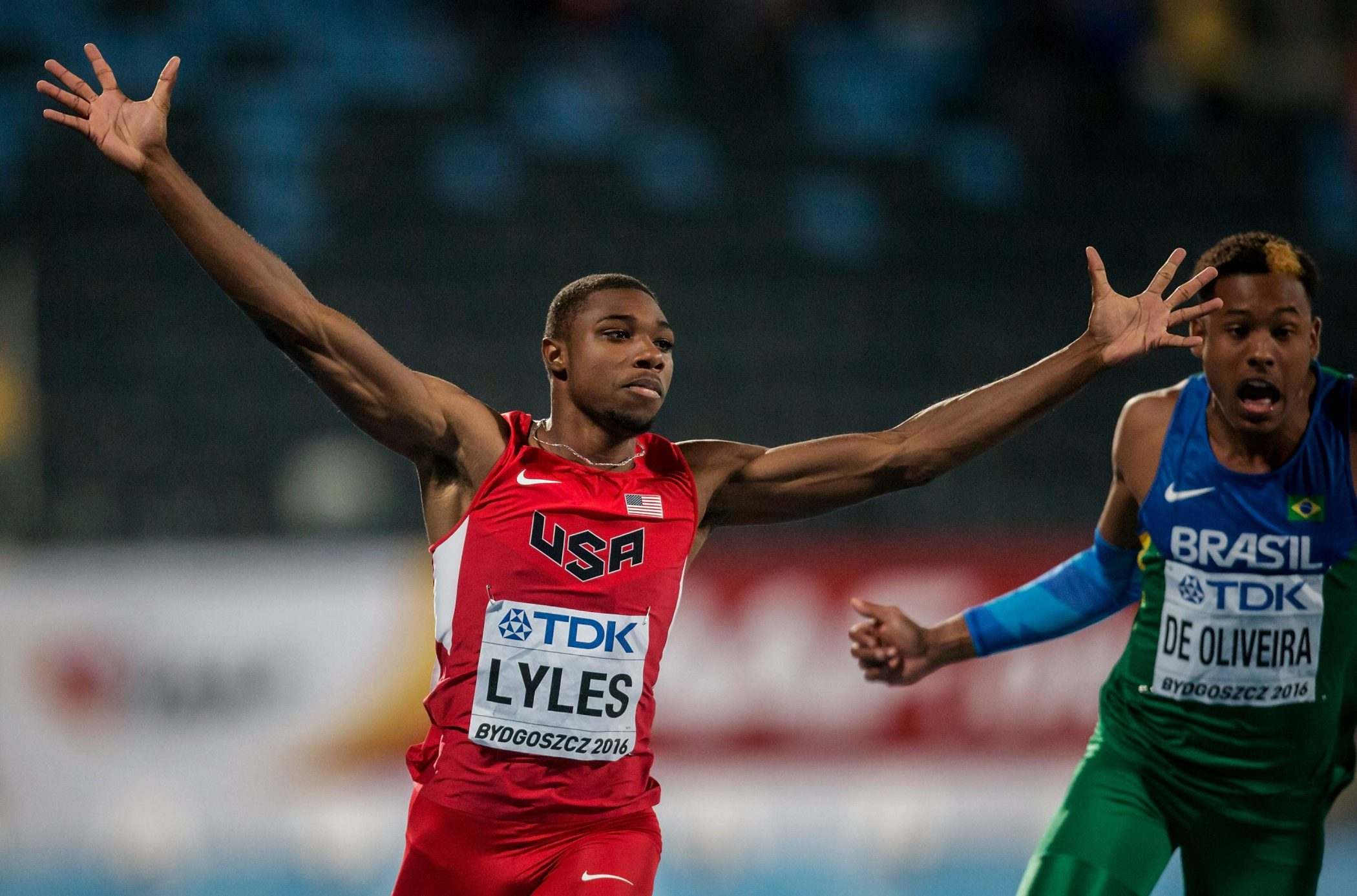 Noah Lyles becomes youngest ever 200m Diamond Trophy
